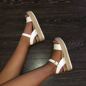 7b2690cec Steve Madden Shoes - Steve Madden Chiara - White Leather
